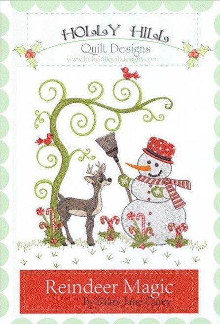 Reindeer Magic Machine Embroidery CD