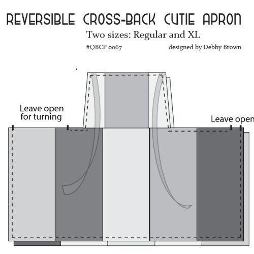 Crossbody apron
