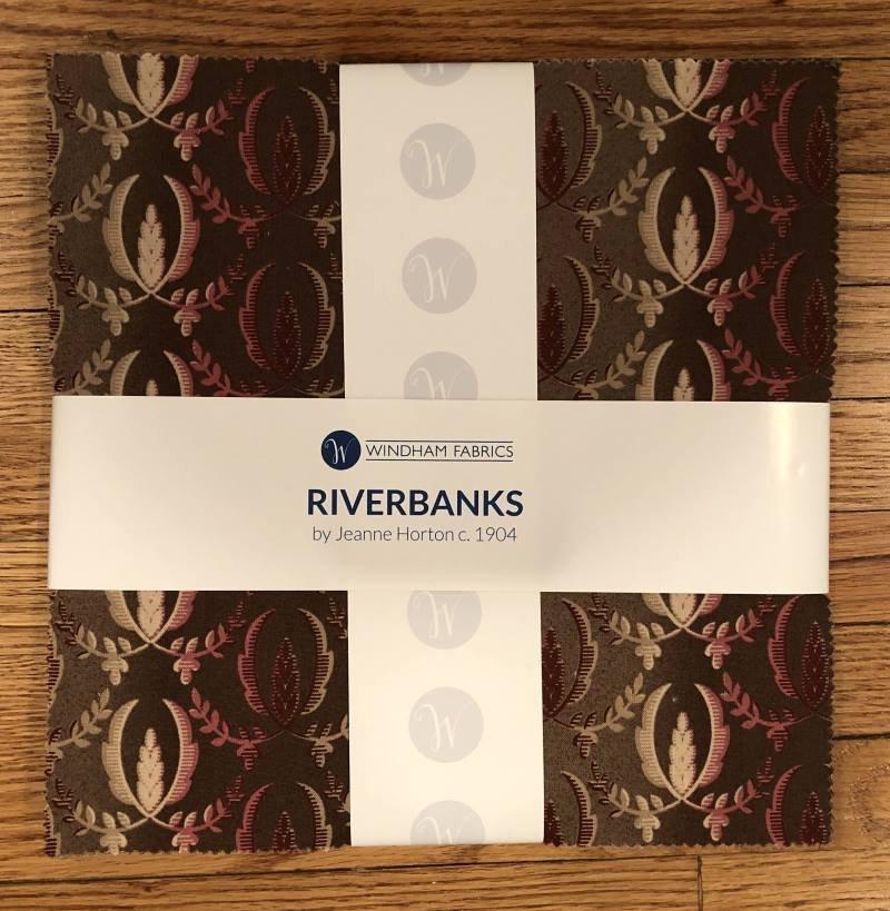 RIverbanks  by Jeanne Horton c. 1904 10 squares
