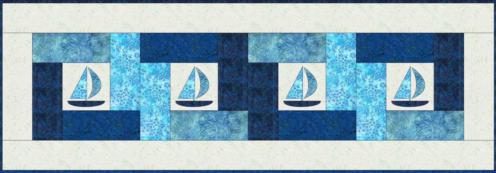 Sailing The Patchwork Sea 2020 Quilters Trek Pattern