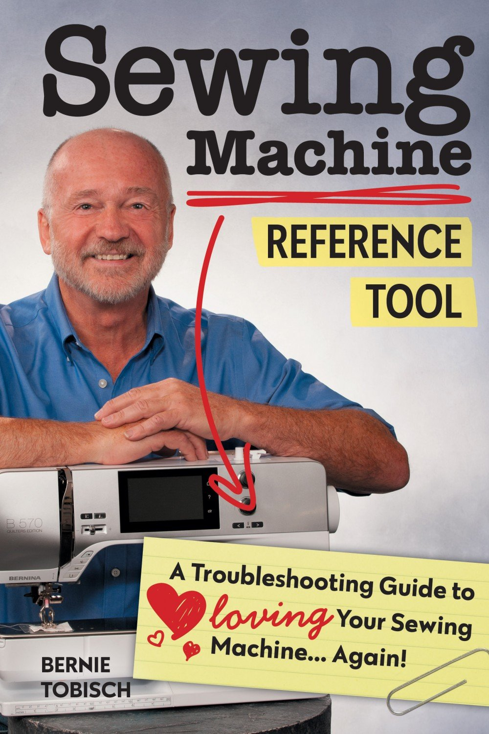 Sewing machine reference guide