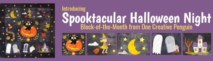 Spooktacular Halloween Night Block-of-the-Month