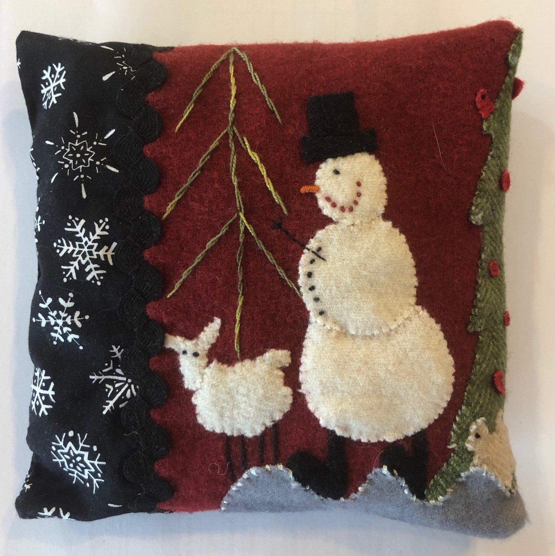 Silly Snowman Pillow Kit