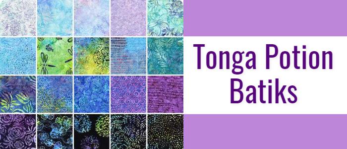 Tonga Potion Batiks