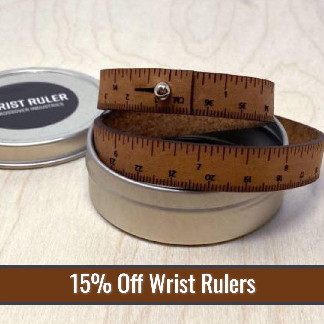 15% off Wrist Rulers