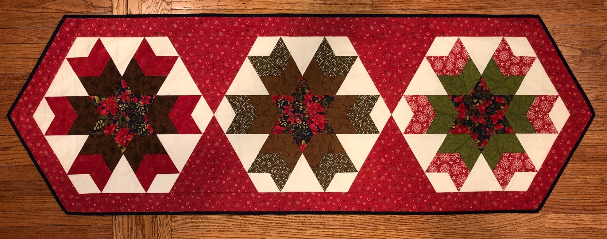 snowflake table decorations.htm magic snowflake table runner  magic snowflake table runner