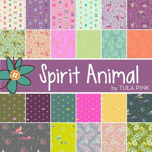 Tula Pink Spirit Animal 10 Squares
