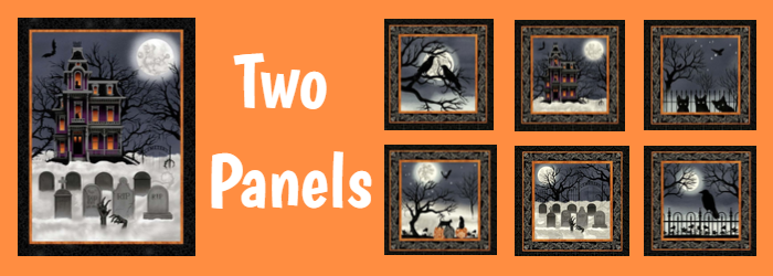 Spooky Night Two Panels