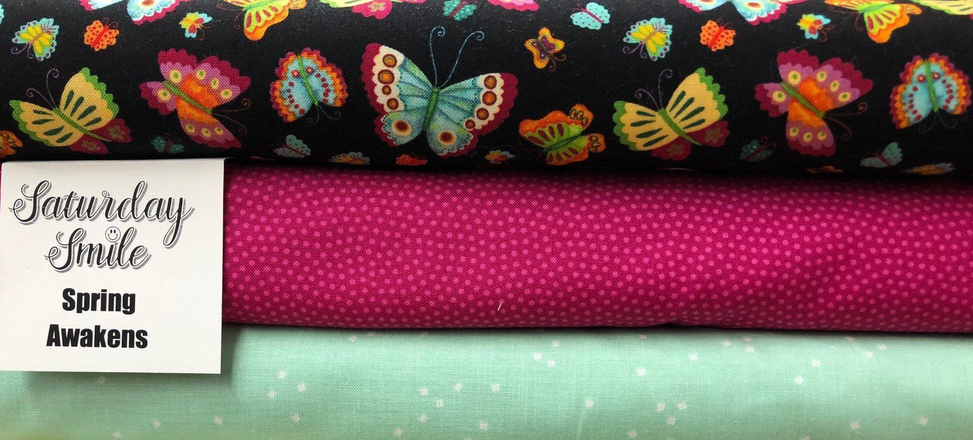 Spring Awakens 3-Yard Quilt Kit