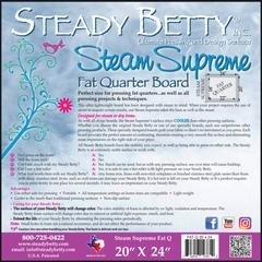 Steady Betty Steam Supreme Fat Quarter Pressing Board - 20 x 24