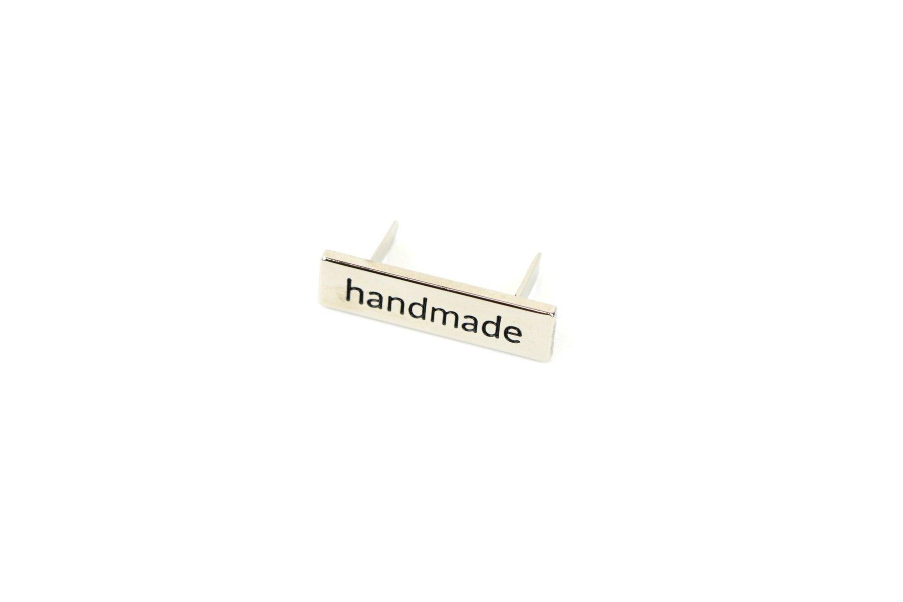 Sans Serif Handmade Label