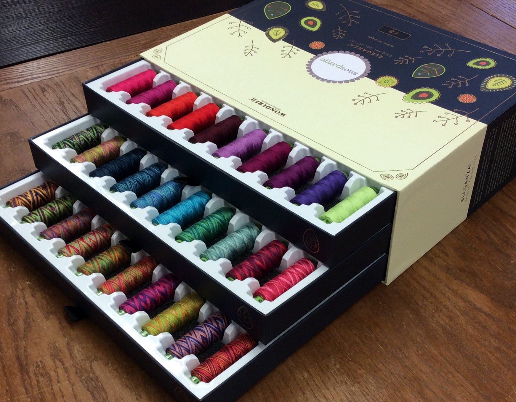 Sue Spargo Eleganza Perle Cotton Collection Box Set