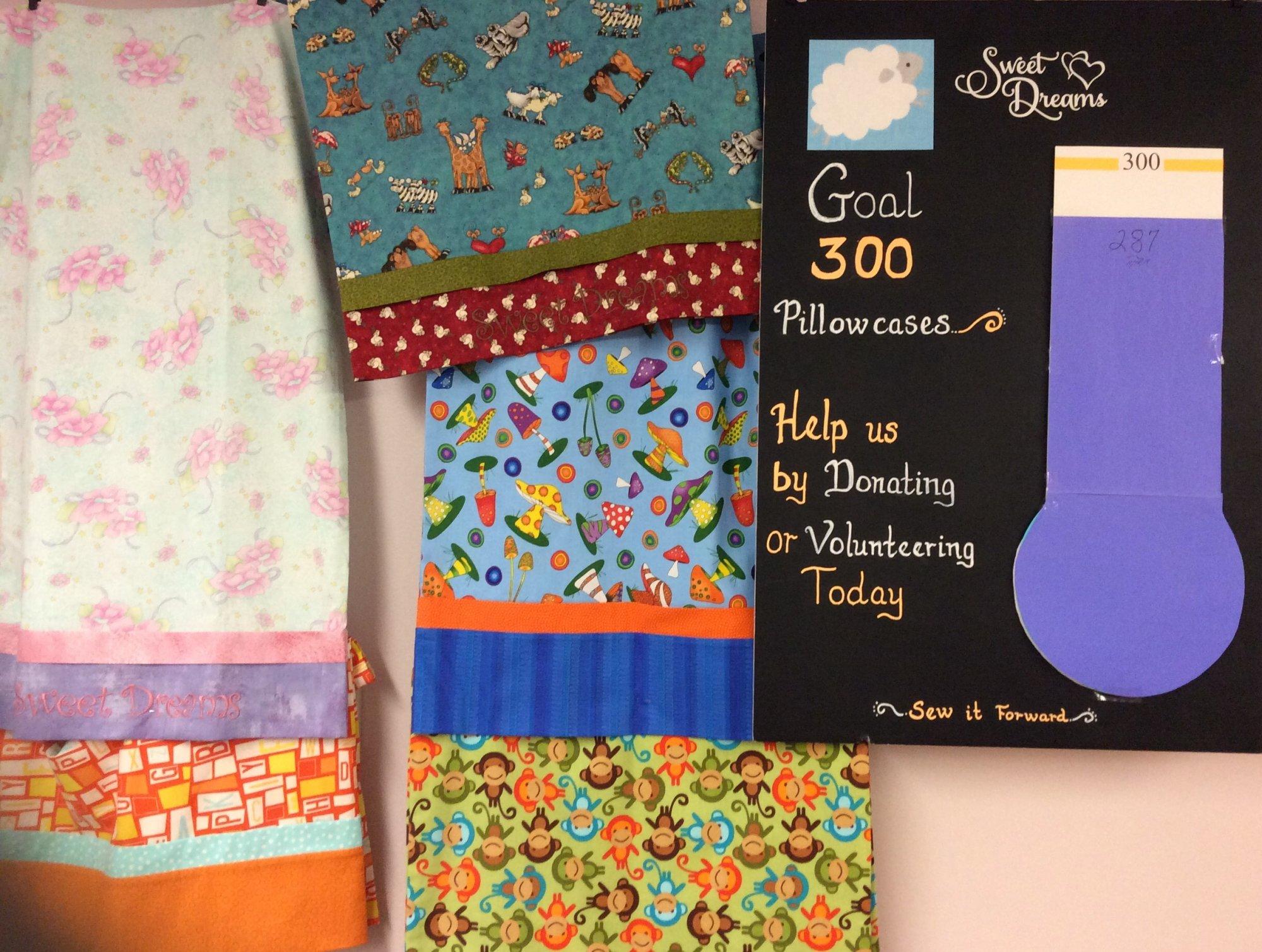 Sweet Dreams Charity Pillowcase Sew In