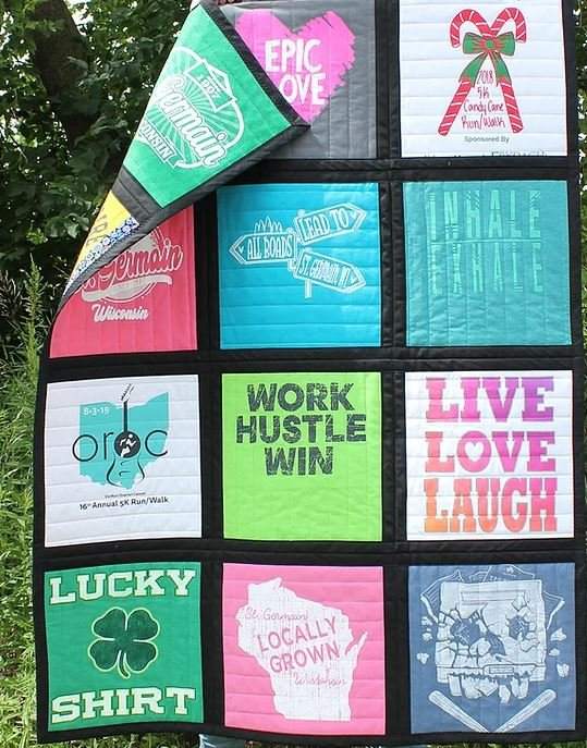 Just Add Your T-Shirts Quilt Kit