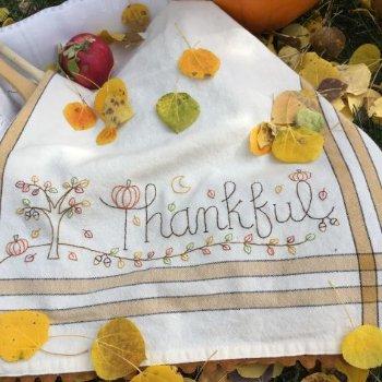 Thanksgiving Dishtowel