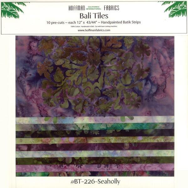 Hoffman Bali Tiles -- Seaholly