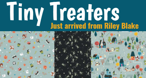 Trendy Treaters Just Arrived From Riley Blake