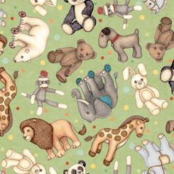 Toyland Minkee by QT Fabrics