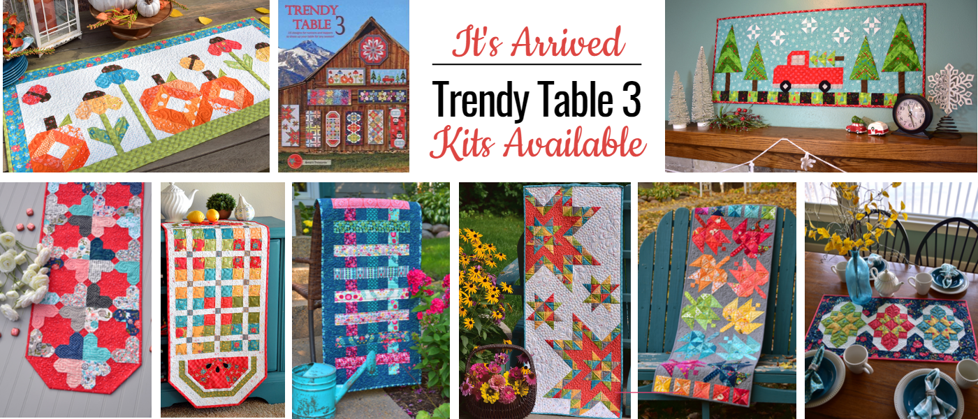 It's Arrived!  Trendy Table 3 Kits Available