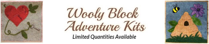 Wooly Block Adventure Kits.  Limited Quantities Available