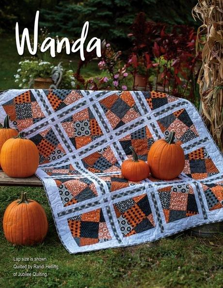 Wanda Kit Using original halloween fabrics, stripology mixology 2, stripology XL or standard