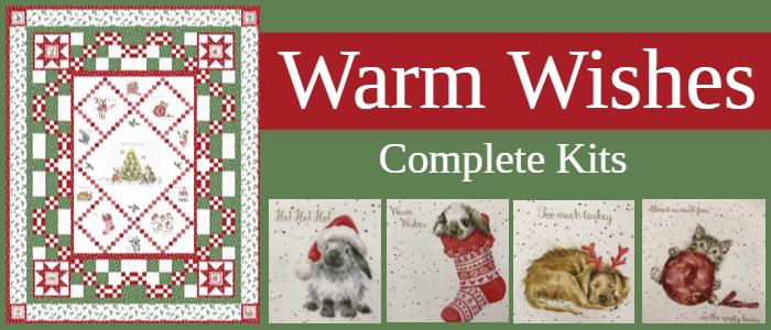 Warm wishes complete kits