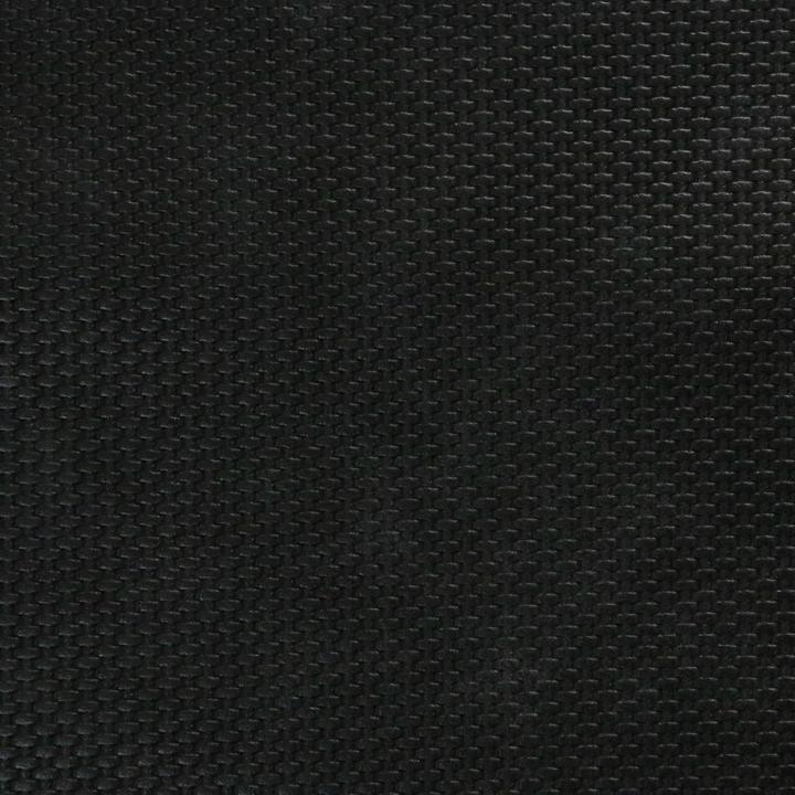 Black Weave Faux Leather - 1/2 yard cut
