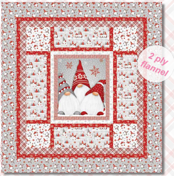 Winter Whimsy Quilt