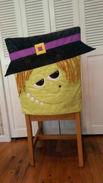Witch Chair Cover