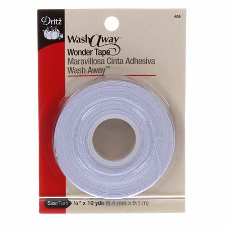 Washaway Wonder Tape - 1/4 inch