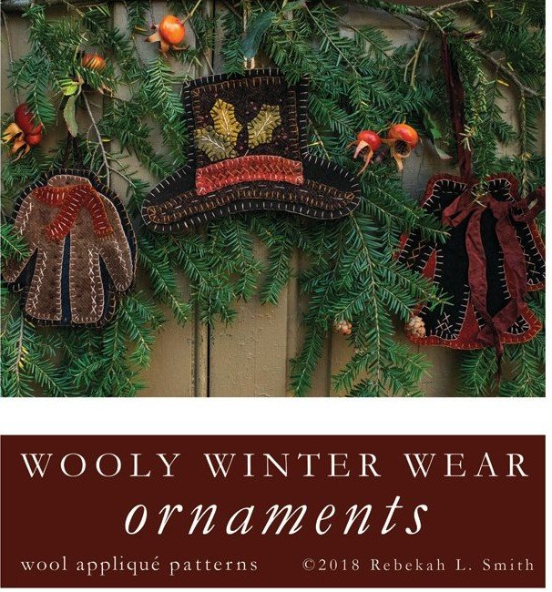 Wooly Winter Wear Ornaments
