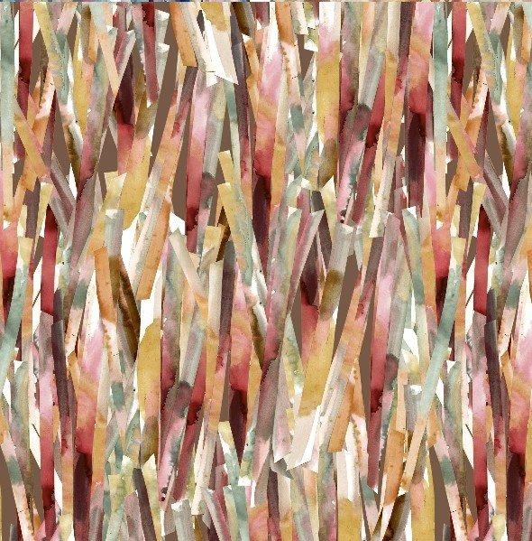 Opal Papier Mache Digitally Printed