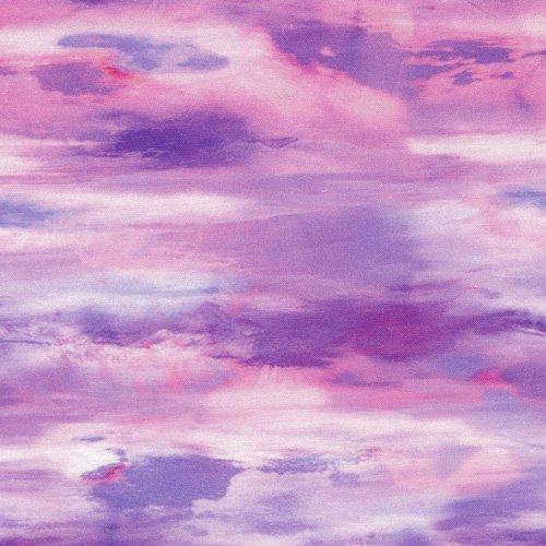 Mountain View Pink/Purple Sky