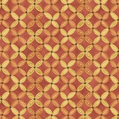 Shine Geometric Red