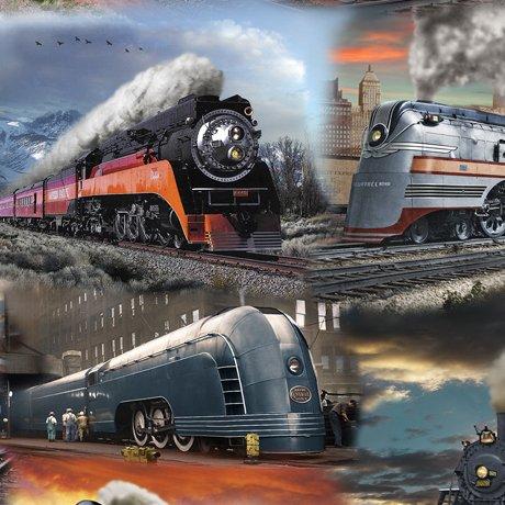 Artworks IX Classic Trains