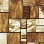 Mosaic Forest Mosaic Glass Brown