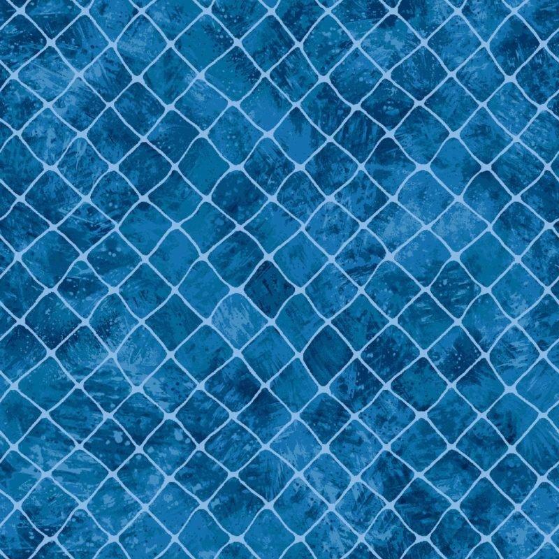 Go Fish Net Medium Blue