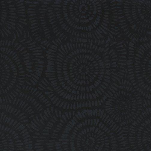 Batik Dandelion Black