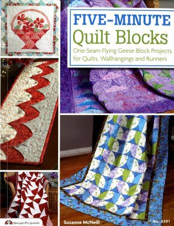 Five-Minute Quilt Blocks - Softcover