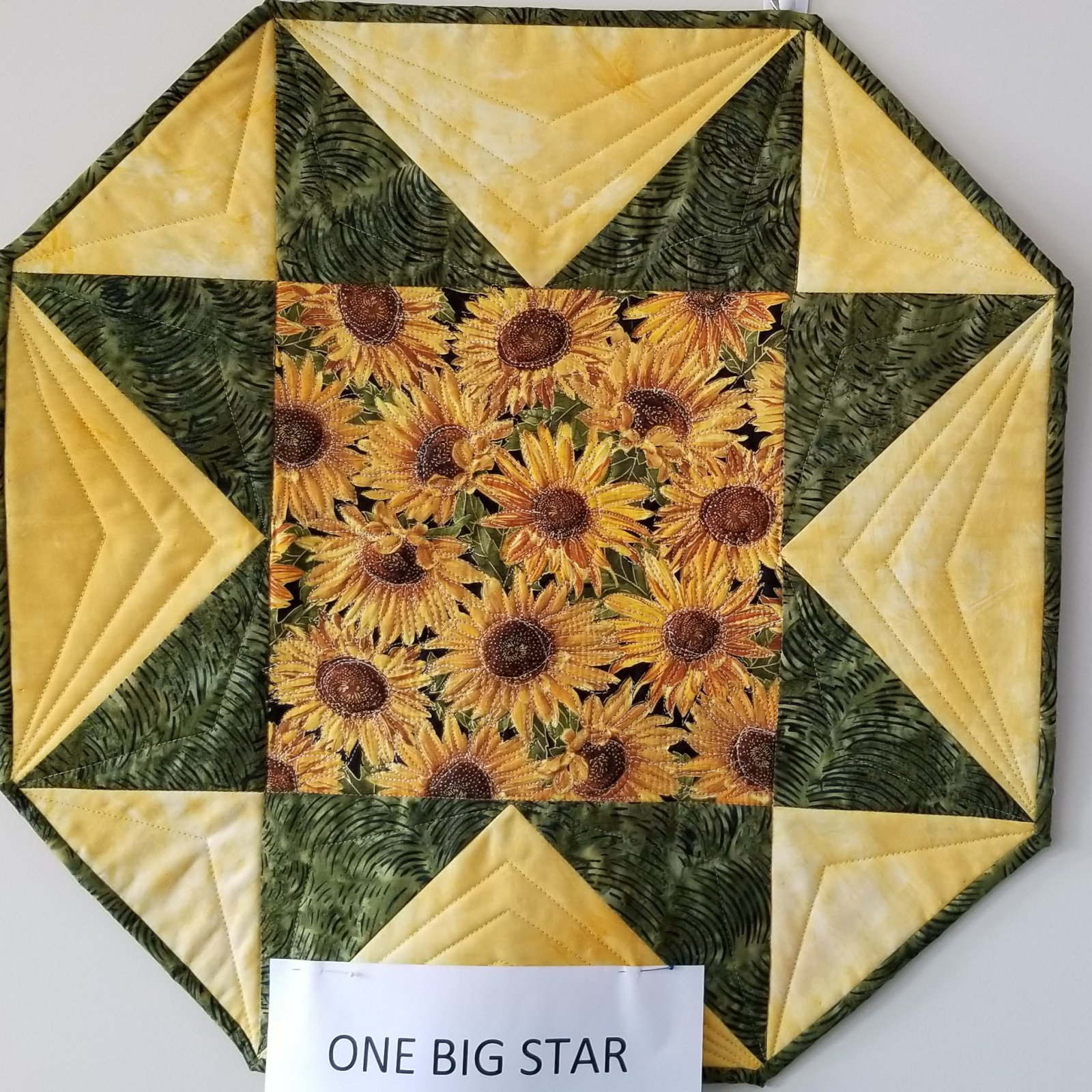 One Big Star Sunflower