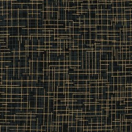 Quilter's Linen Metallic Black