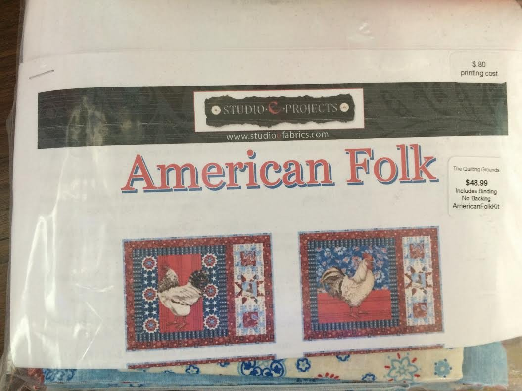 American Folk Placemats