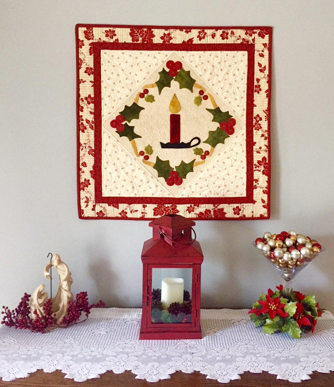 Christmas Candle Fabric Kit