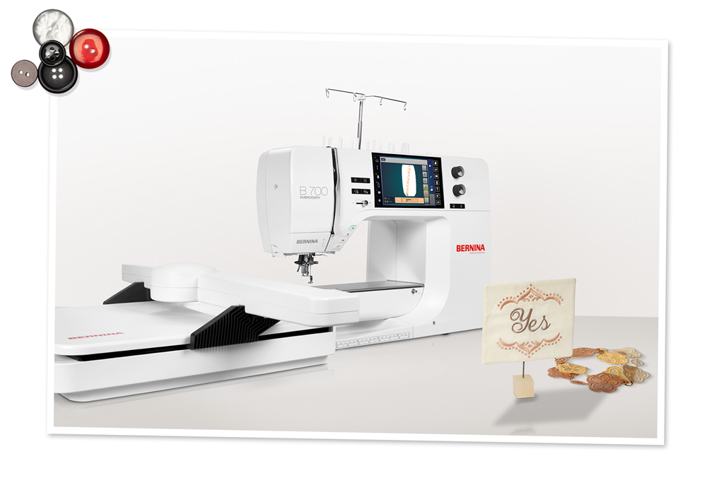 BERNINA 700 – Beautiful Embroidery is Simple