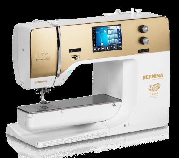 BERNINA 40QE Anniversary Edition Fascinating Bernina 1000 Special Sewing Machine Manual