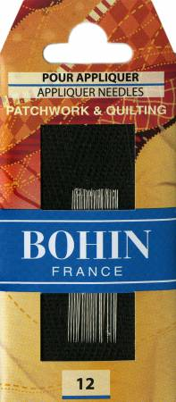 Bohin Applique Needle Size 12