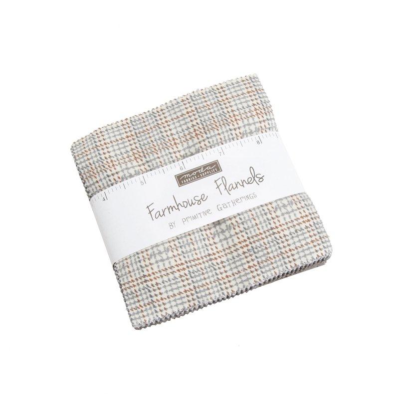 Farmhouse Flannels by Primitive Gathering 5 Charm Packs