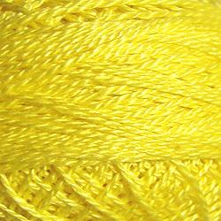 Valdani Size 12: Solid 1308 Easter Yellow