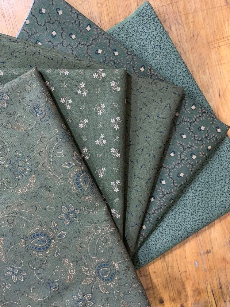 Country Meadow by Pam Buda - Just the Greens Bundles!