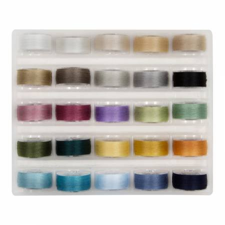 Super Bob's MasterPiece Cotton Bobbins - Soft Colours